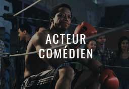 Acteur-comédien Jean-Louis Garçon