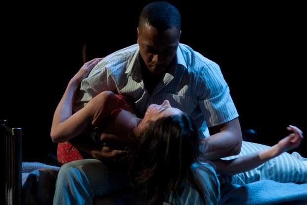 Une scène issue de la pièce de théâtre Intra-Muros