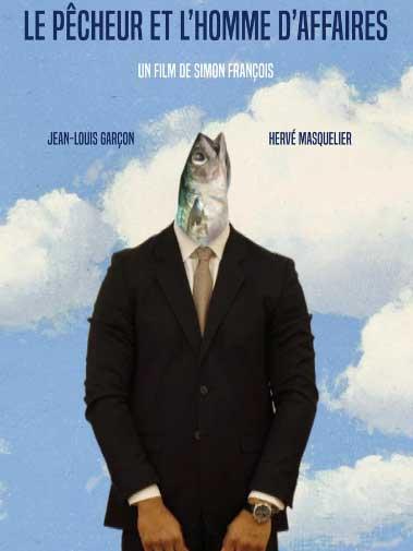 Affiche du court métrage le pêcheur et l'homme d'affaires