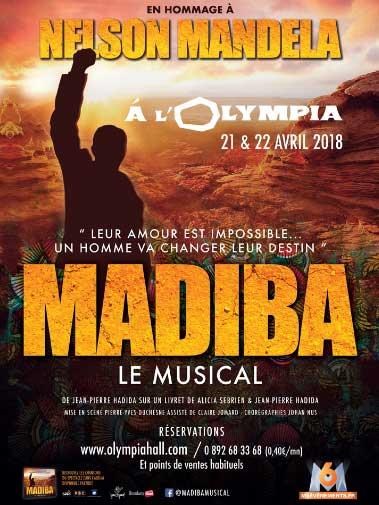 Affiche de la pièce de théâtre Madiba