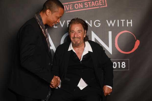Photo prise avec l'acteur Al Pacino