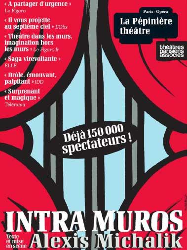 Affiche de la pièce de théâtre Intra-Muros